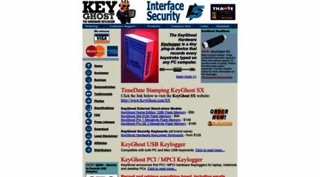 Visit Keyghost com - KeyGhost Keylogger - A hardware