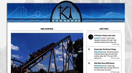 Visit Kicentral com - Kings Island Central – Kings Island's