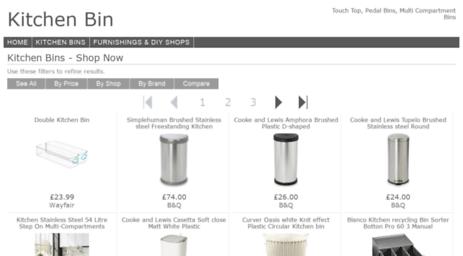 Visit Kitchenbin Co Uk Want Your Own Website 123 Reg