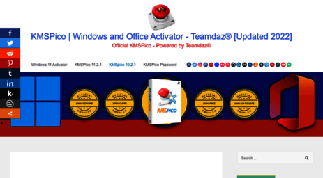 Visit Kmspi co - KMSpico 10 2 2 Windows and Office Activator