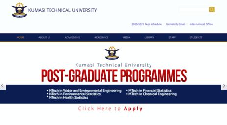 Visit Kpoly edu gh - Kumasi Technical University   Knowledge
