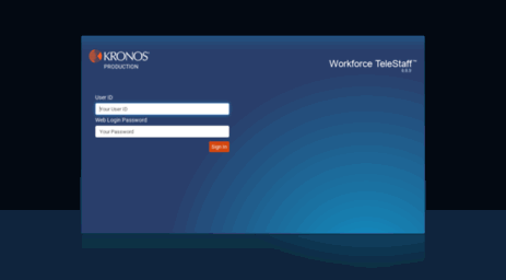 Visit Kronos hollywoodfl org - Workforce TeleStaff Login