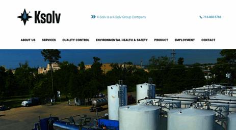 Visit Ksolv com - K-Solv Chemical Distributors - Chemical