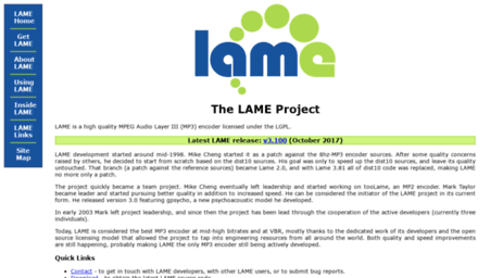 lame.sourceforge.net