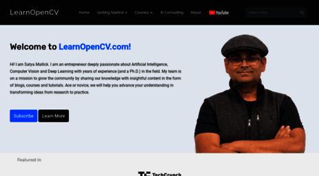 Visit Learnopencv com - Learn OpenCV ( C++ / Python )