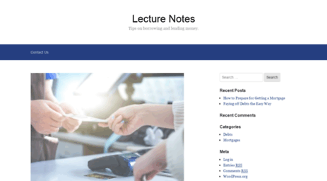 Visit Lecture-notes co uk - Lecture Notes – Tips on borrowing and