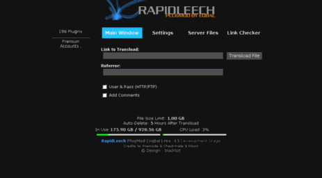 Rapidleech V2 Rev 3