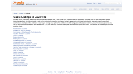 Louisville classified ads