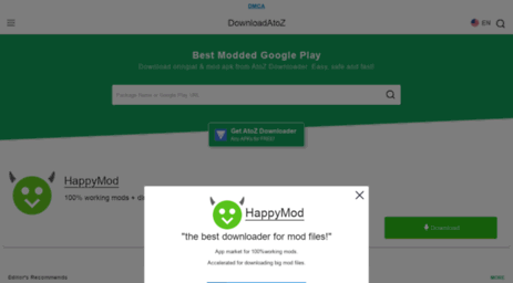 Visit M downloadatoz com - Mod APK Download - Best Modded Google Play