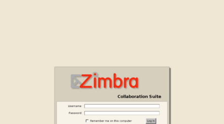Visit Mail col-sge com - Zimbra Collaboration Suite Log In