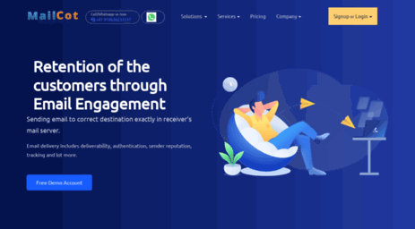 Visit Mailcot.com - Mailcot - Email Marketing Service Provider | Email Marketing Company.