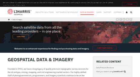 Visit Mapmart com - Geospatial Data & Imagery | Harris Geospatial
