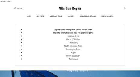 Visit Mdsgunrepair ieasysite com - Mds Gun Repair gunsmith
