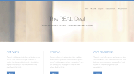 Visit Medialateral com - The REAL Deal: Discover the truth about