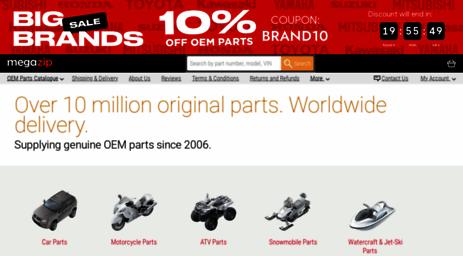 Visit Megazip Net Megazip Genuine Oem Parts From Japan Usa Uae