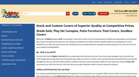 Visit Mightycovers com - Custom Covers   Sandbox, Shade