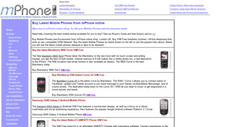 Visit Mphone co uk - Buy Mobile Phones SIM Free Phone from