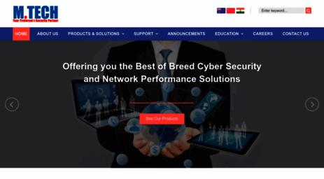 Visit Mtechpro com - M Tech!   Leading Cyber Security