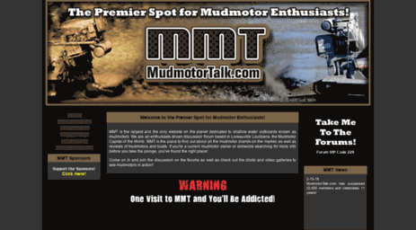 Visit Mudmotortalk com - MudMotorTalk com --- The Premier