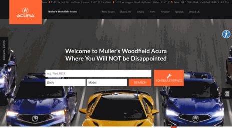 Mullers Woodfield Acura >> Visit Mullerswoodfieldacura Com Acura Dealer Hoffman