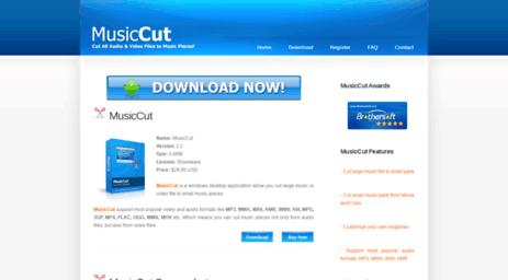 Visit Musiccut net - MusicCut - Music Cut Software