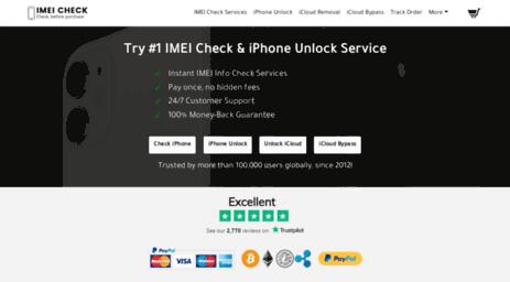 Visit Myimeiunlock com - Free iPhone IMEI Checker and Unlocking