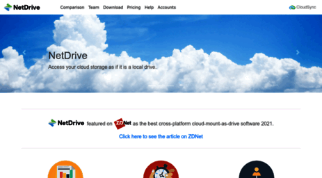 Visit Netdrive net - NetDrive - The Network Drive for