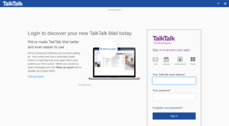 My Talktalk Webmail >> Visit Netmail Pipex Net Request Rejected