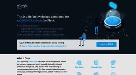 Visit Ns3002403 ovh net - Web Server's Default Page