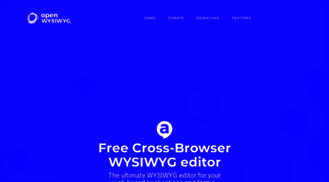 Visit Openwebware com - Open Source, Free Cross-Browser WYSIWYG Editor