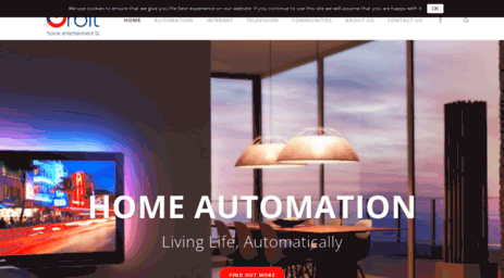Visit Orbitsl com - Home Entertainment and Automation Costa del Sol