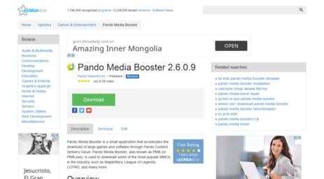 PANDO WINDOWS BOOSTER TÉLÉCHARGER 7 POUR MEDIA