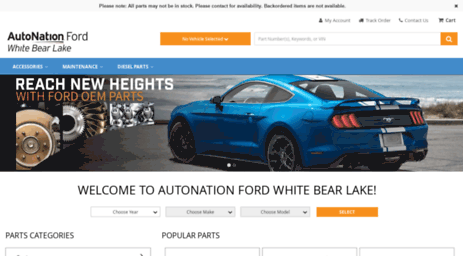 White Bear Lake Ford >> Visit Parts Autonationfordwhitebearlake Com Autonation