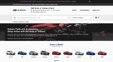Visit Parts bkcars com - Subaru Parts, Accessories and Gear from