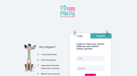Animal Friends Pawtal