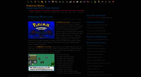 Visit Pokemon-roms com - Pokemon Roms • Download Sun Moon