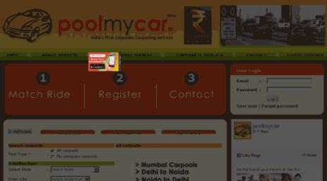 Visit Poolmycar in - Carpooling | carpool | car pooling