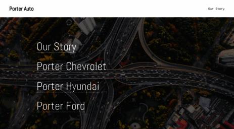 Visit Porterauto Com Porter Auto Group Nissan Chevy