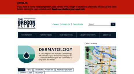Visit Portlanddermclinic com - Dermatology   The Oregon Clinic
