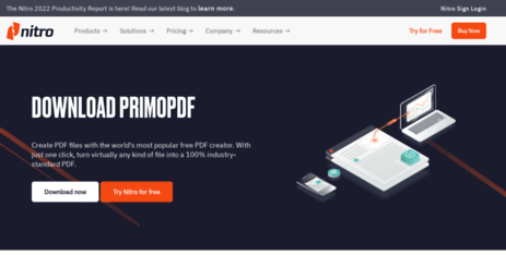 Visit Primopdf com - PDF Converter — #1 Free PDF Creator