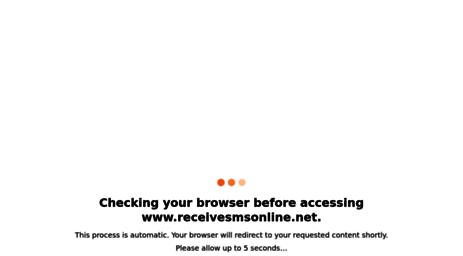 Visit Private receivesmsonline net - Receive SMS Online