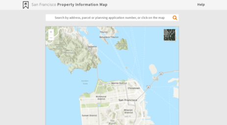 Sf Property Information Map Visit Propertymap.sfplanning.  San Francisco Property