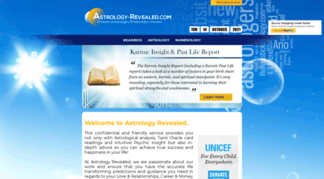 Visit Psychic-answer com - Astrology-revealed com - Free Astrology
