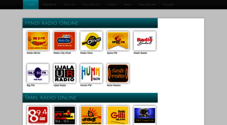 Visit Radiosindia com - Indian radio stations online FM radio and AM