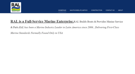 Visit Ralmarine mx - ⚓️Marine Services & Parts in Cancun