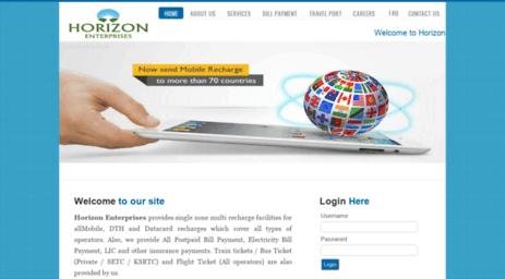 Visit Rechargentravel com - Welcome to Horizon Enterprises