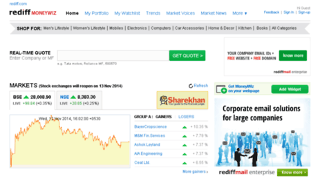 Nse Live Prices