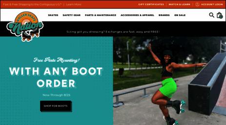 Roller Skates On Sales Rollerskatenation Com >> Visit Rollerskatenation Com Roller Skates Speed Skates