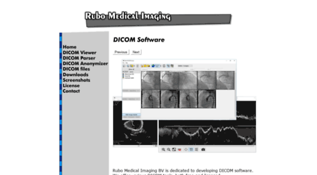 Visit Rubomedical com - Professional DICOM viewer with free