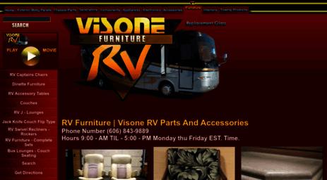 Visit Rvfurniture visonerv com - RV Furniture   Visone RV Parts And